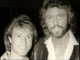 barry and andy gibb